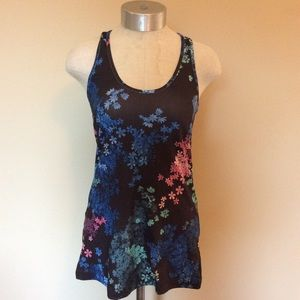 Lululemon cool racerback petal pop multi tank top